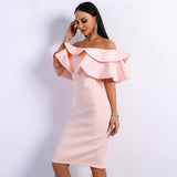 ANUSHA MIDI DRESS- Viaz