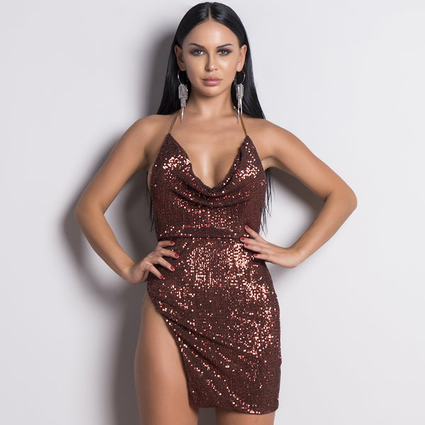 AYLA MINI DRESS- Viaz