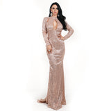 VALERIA MAXI DRESS- Viaz