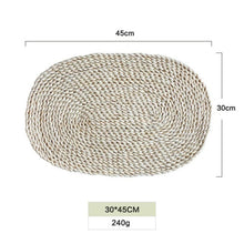Natural Rattan Placemats and Coasters - NaturAmericas Market