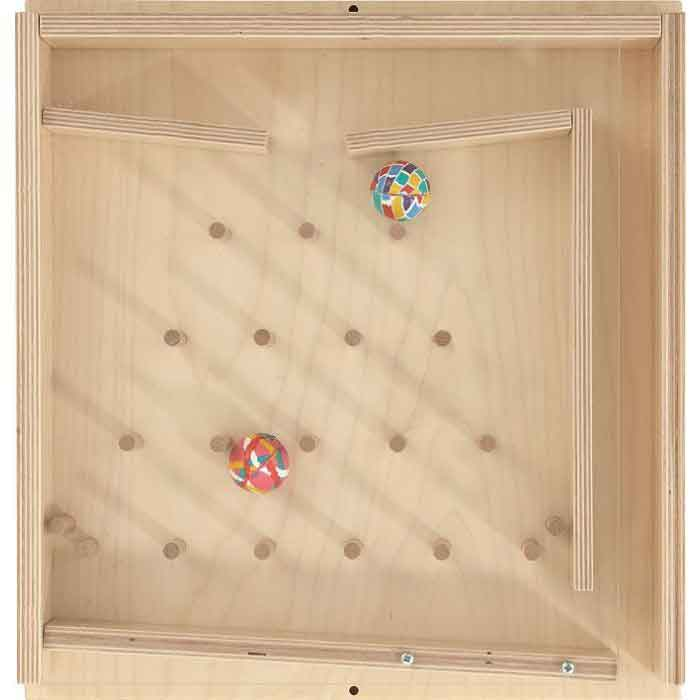 HABA Rubber Ball Stairs Wall Activity Panel