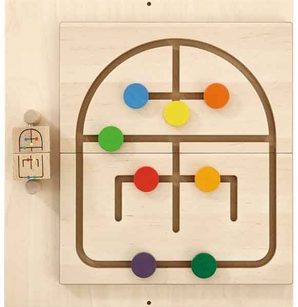 HABA Labyrinth Sensory Wall Activity Panel