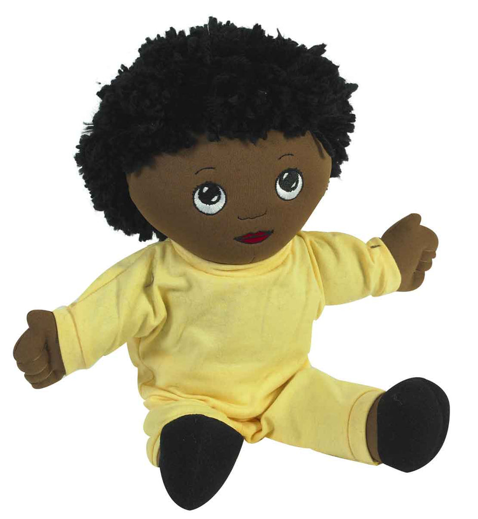 Children's Factory CF100-732 Sweat Suit Doll African-American Boy