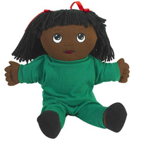 Children's Factory CF100-733 Sweat Suit Doll African-American Girl - The Creativity Institute