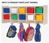 Angeles ANG1017O Double Wall Locker with Opaque Trays - The Creativity Institute