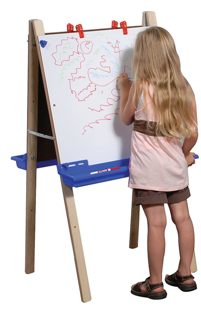 Angeles ANG1034 Adjustable Folding Whiteboard Easel - The Creativity Institute