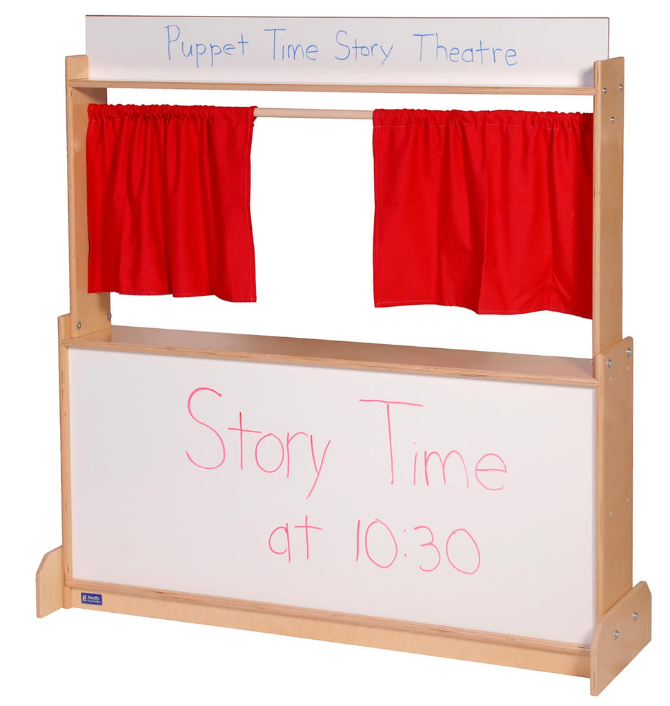 Angeles ANG1037W Puppet Theatre-Store - Dry Erase