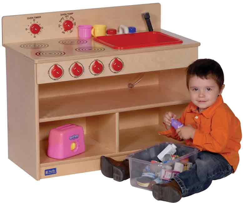 Angeles ANG1092 Toddler 2-in-1 Kitchen Center