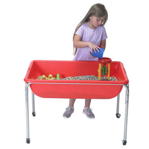 "Children's Factory Large Sensory Table and Lid Set 18"" Legs- 1135-18"