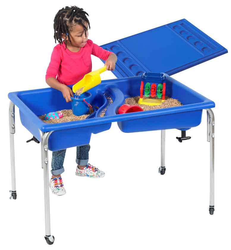 "Children's Factory 24"" Neptune Table and Lid Set - 1138-24 - The Creativity Institute"