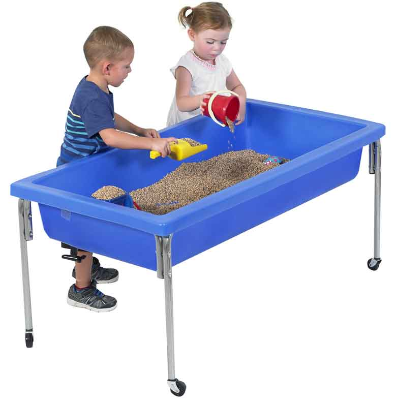 "Children's Factory Activity Table and Lid Set 24"" Legs - 1150-24 - The Creativity Institute"