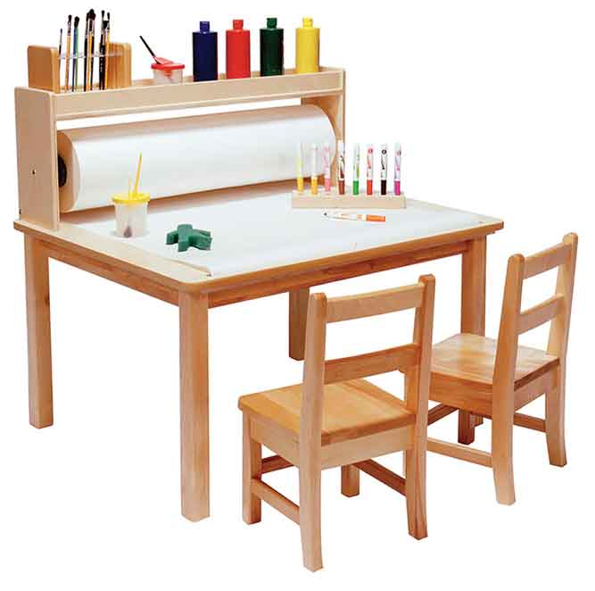 Angeles Arts & Crafts Table – 18″ Legs