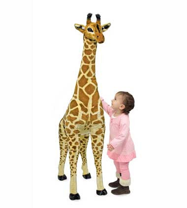 Melissa & Doug 2106 Giraffe Giant Stuffed Animal