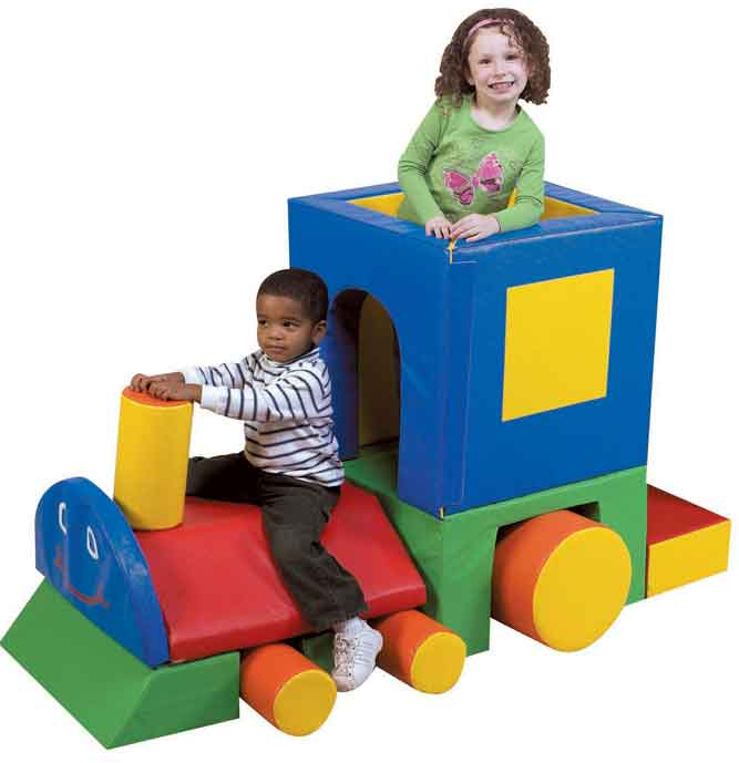 Children's Factory CF321-043 Little Chug Train Engine Climber