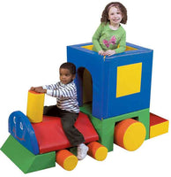 Children's Factory Little Chug Train Engine Climber - CF321-043 - The Creativity Institute