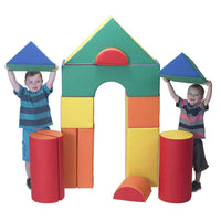 Children's Factory CF321-620 Big Blocks Set B - 14 Soft Module Blocks - The Creativity Institute