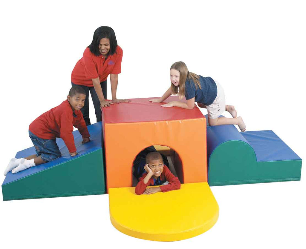 Children's Factory CF322-083 School Age Tunnel Climber
