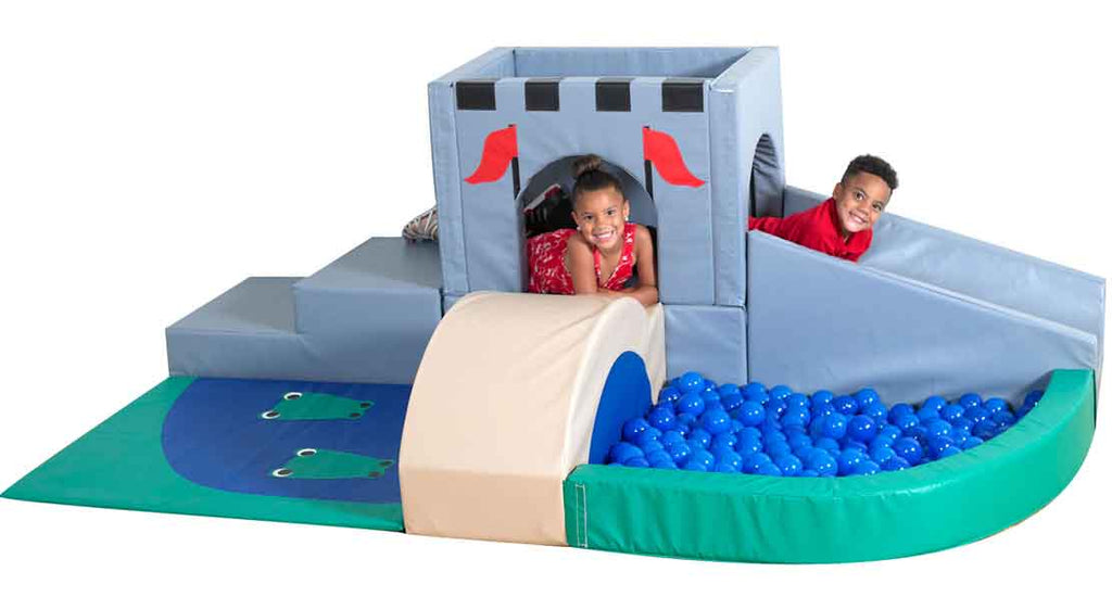Children's Factory CF322-228 Medieval Kingdom Climber