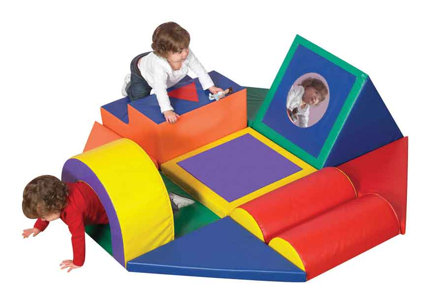 Children's Factory CF322-391 Shape & Play Obstacle Course