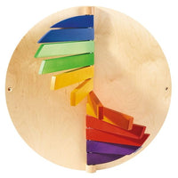 HABA Wood Color Wall Activity Panel