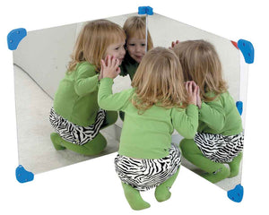 "Children's Factory CF332-563 Pair of 24"" x 24"" Corner Mirrors - The Creativity Institute"