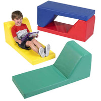 Children's Factory CF349-009 Preschool Loungers Set of Four - The Creativity Institute