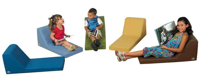 Children's Factory CF349-046 Cozy Woodland Loungers Set of 5