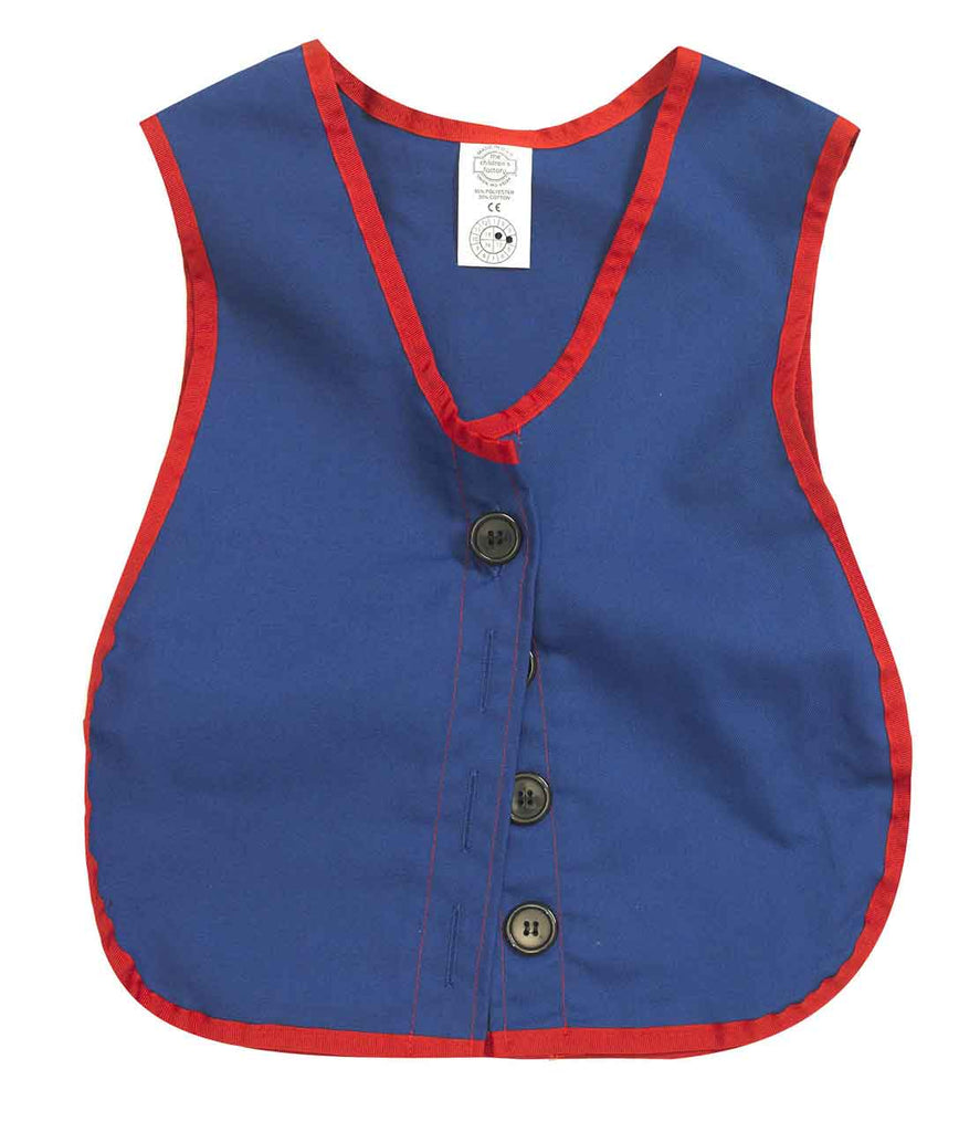 Children's Factory CF361-307 Button Vest Manual Dexterity Vest