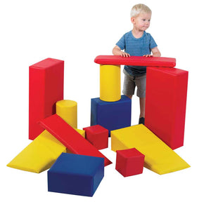 Children's Factory Builder Blocks: Soft Blocks Beginner Set - CF362-512 - The Creativity Institute