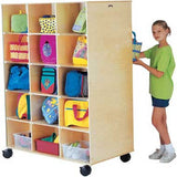 Jonti-Craft 3915JC Big Twin 30-Section Mobile Cabinet