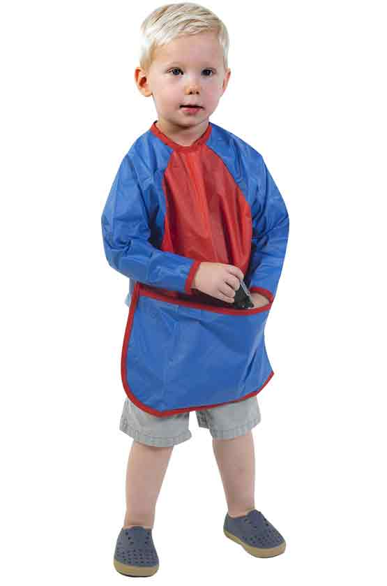 Children's Factory CF400-020 Small Washable Smock - The Creativity Institute