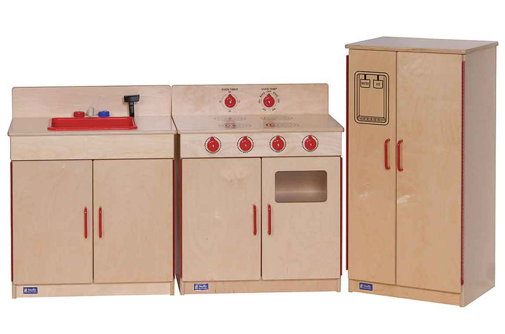 Angeles Wooden 3-Piece Kitchen Set ANG4003 - The Creativity Institute