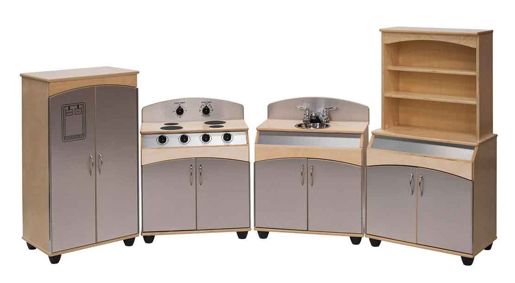 Angeles 4-Piece Contemporary Complete Kitchen Set ANG4200 - The Creativity Institute