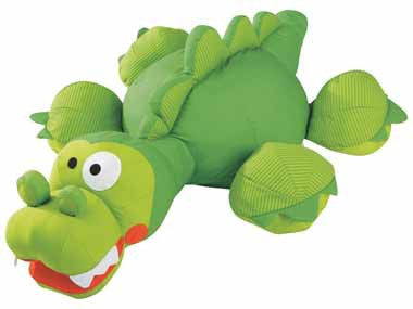 Wesco 46692 Giant Animal Cushion Bill the Crocodile
