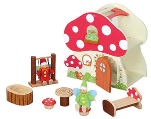 Maxim 54142 Mushroom Cottage Dollhouse - The Creativity Institute