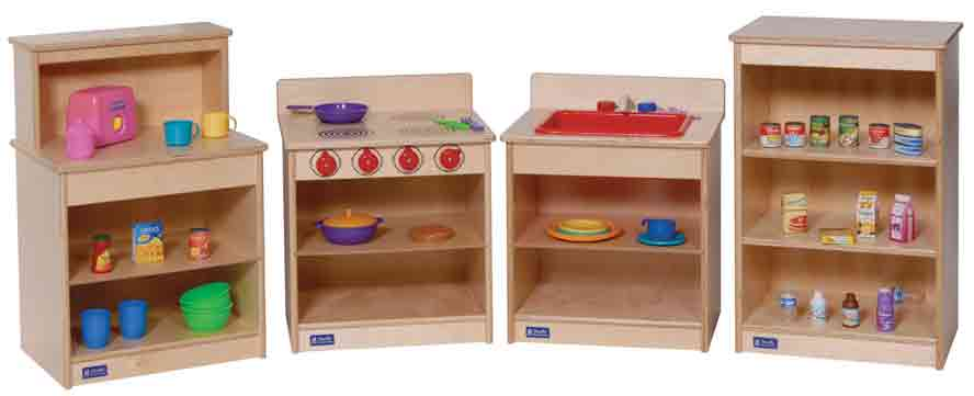 Angeles 4-Piece Complete Toddler Kitchen Set ANG6000 - The Creativity Institute