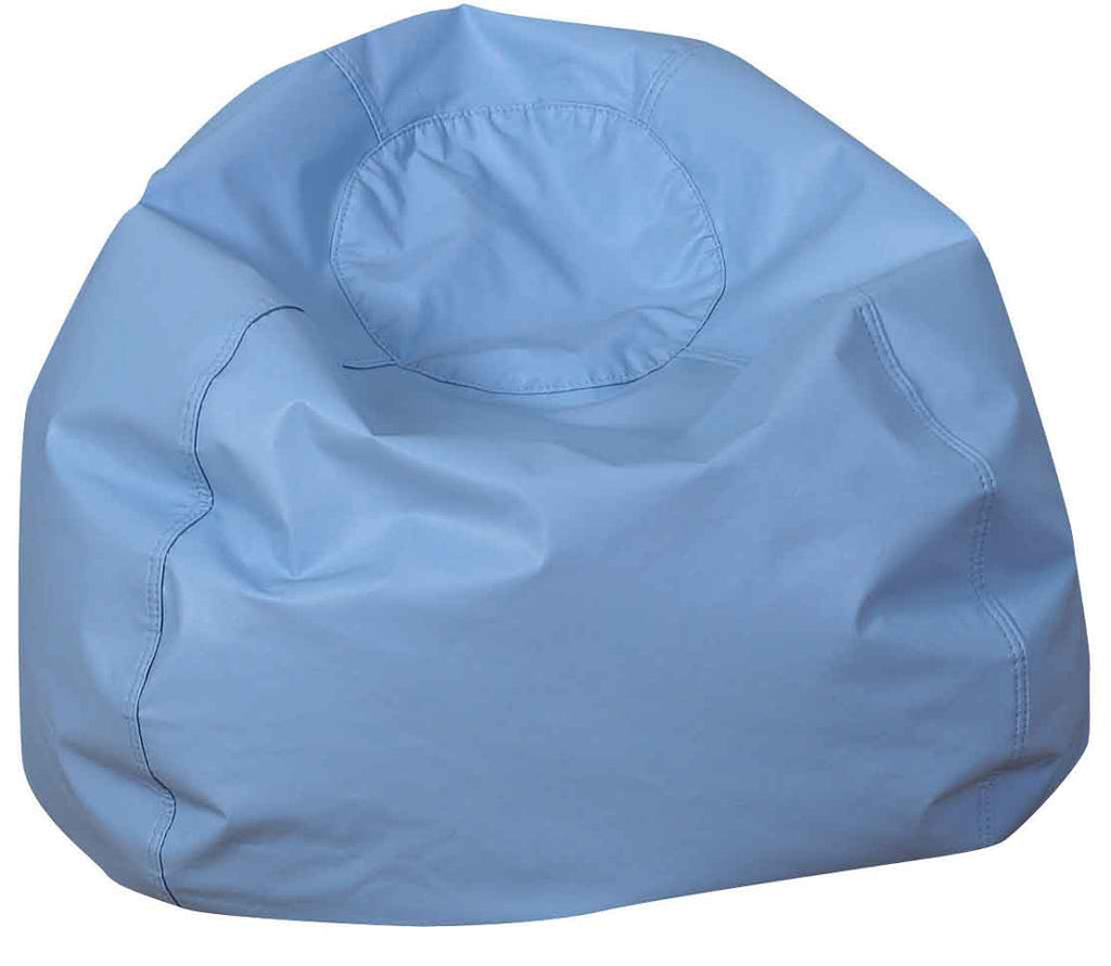 "Children's Factory CF610-085 35"" Dia. Light Sky Blue Bean Bag Chair"
