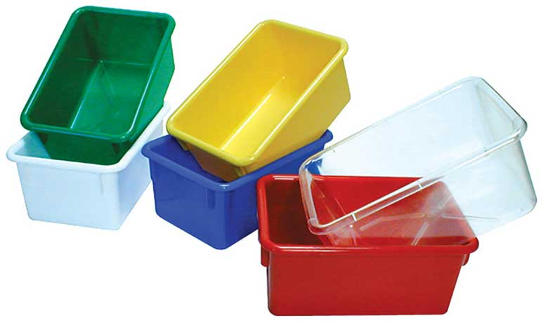 Angeles ANG7052R Red Bin Storage (Single Tray)