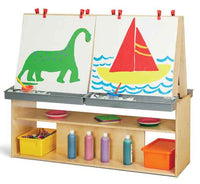 Jonti-Craft Young Time 4 Station Art Center 7093YT