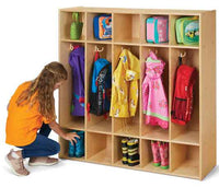 Jonti-Craft Young Time 5-Section Coat Locker