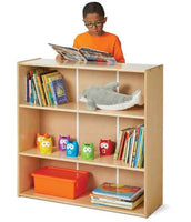Jonti-Craft Young Time Short Adjustable-Shelf Bookcase