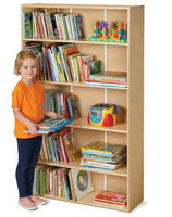 Jonti-Craft Young Time Tall Adjustable-Shelf Bookcase 7118YT