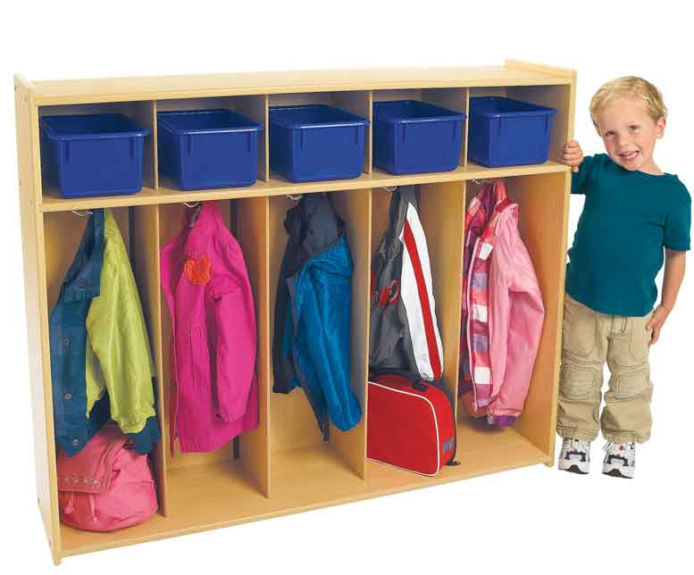 Angeles Value Line Toddler 5-Section Locker ANG7158 - The Creativity Institute
