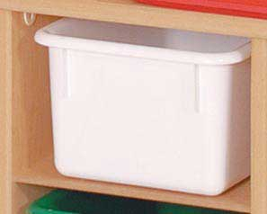 Angeles ANG7198W White Tray Storage - The Creativity Institute