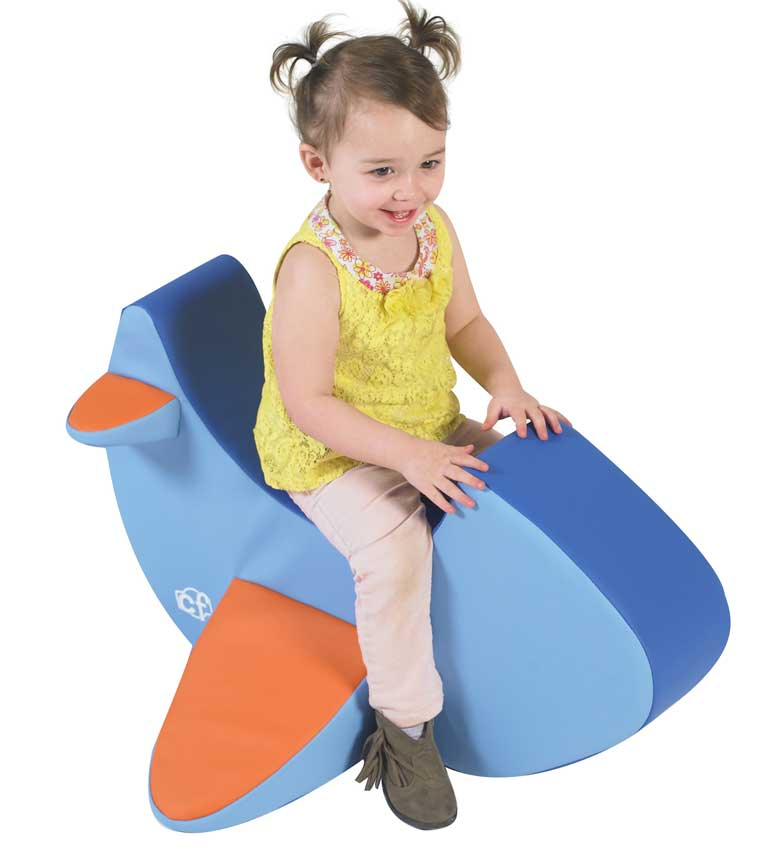 Children's Factory CF805-134 Rocking Airplane Cushion