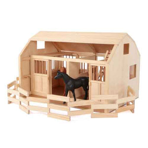 Maxim 81017 Grand Stables Barn with Corral - The Creativity Institute