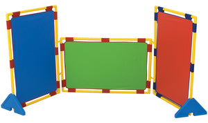 Children's Factory CF900-539 Rectangular Rainbow Set of 3 Play Panels (PlayPanels)
