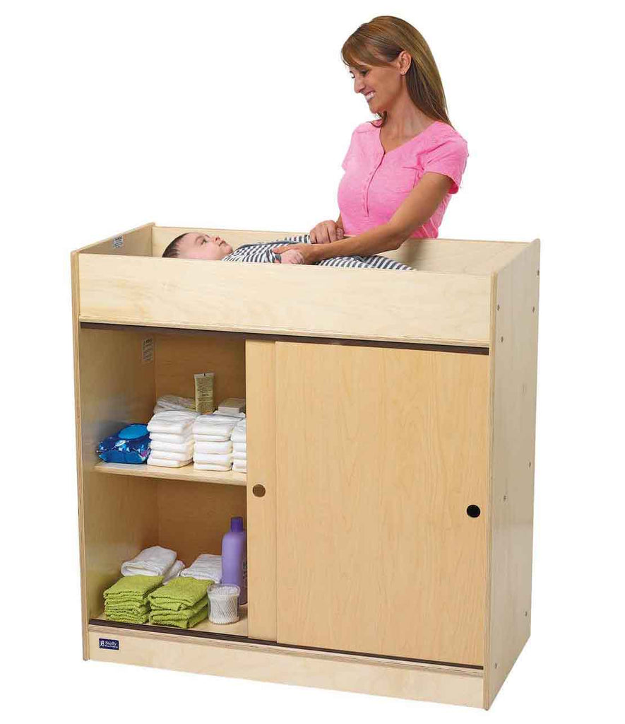 Angeles Value Line Birch Changing Table ANG9039