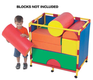 Children's Factory CF905-138 Trolley for Soft Big Block Set B - Trolly - The Creativity Institute