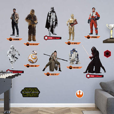 Fathead Star Wars: The Force Awakens Collection 92-92223